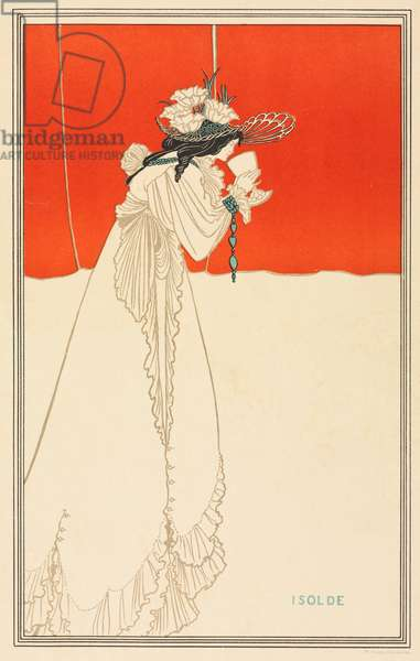 Isolde, 1895 (colour lithograph)