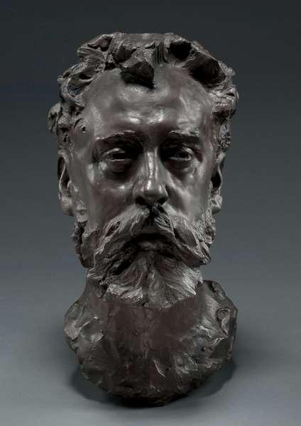 Portrait of William E. Henley, 1882 (bronze)