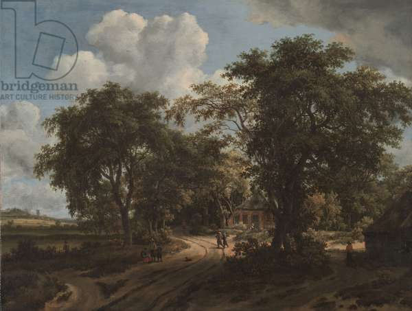 A Cottage in the Woods, c.1662 (oil on canvas)