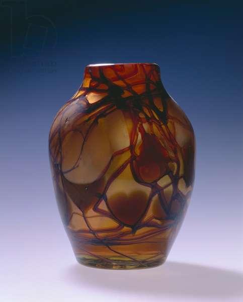 Vase, c.1914-1918 (glass)
