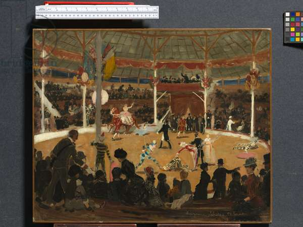 The Circus, 1889 (oil on canvas)