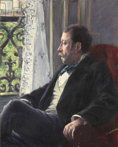 Portrait of a Man, 1880 (oil on canvas)