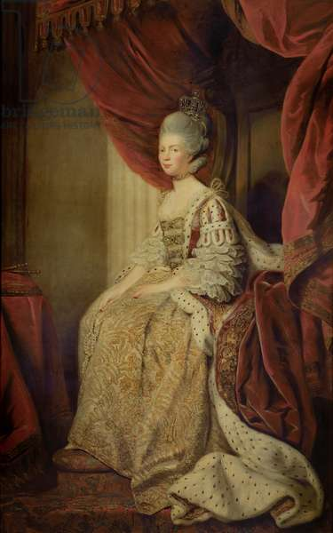 Queen Charlotte (oil on canvas)