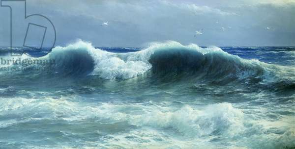 Breakers, 1895 (oil on canvas)