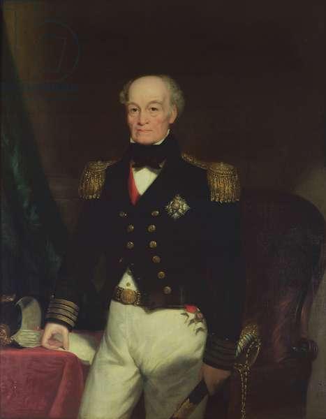 Portrait of Sir Thomas Byam Martin (1773-1854) 1852 (oil)