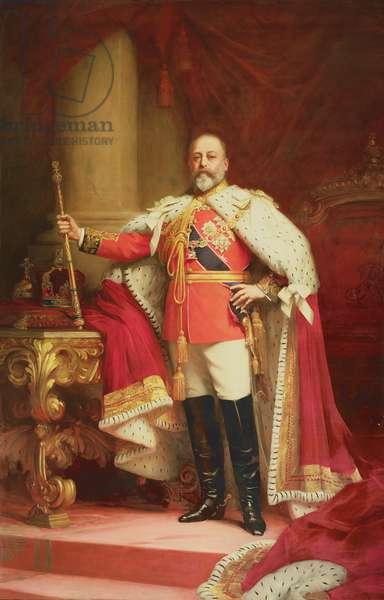 King Edward VII, 1902 (oil on canvas)