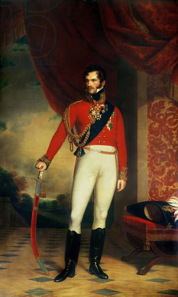 The Prince of Orange, later King William II of the Netherlands (1792-1849)