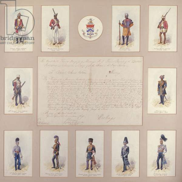 Military uniforms of the British and Indian Armies