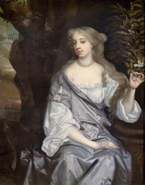 Portrait of a Lady, said to be Nell Gwynne (1650-87)