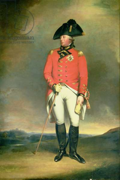 Portrait of King George III (1738-1820) copy of a painting by William Robinson (1799-1839) 1831 (oil on canvas)
