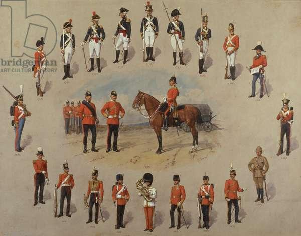 Members of the Royal Engineers