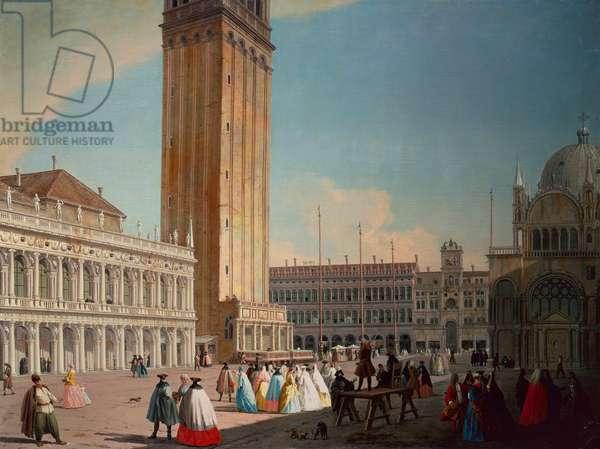 Piazzetta, Venice (oil on canvas)