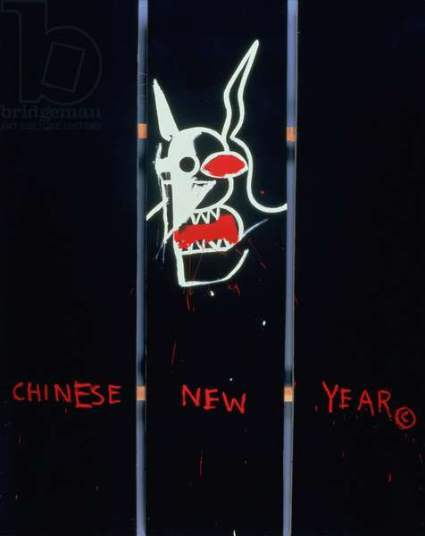 Year of the Boar, 1983 (acrylic on canvas)