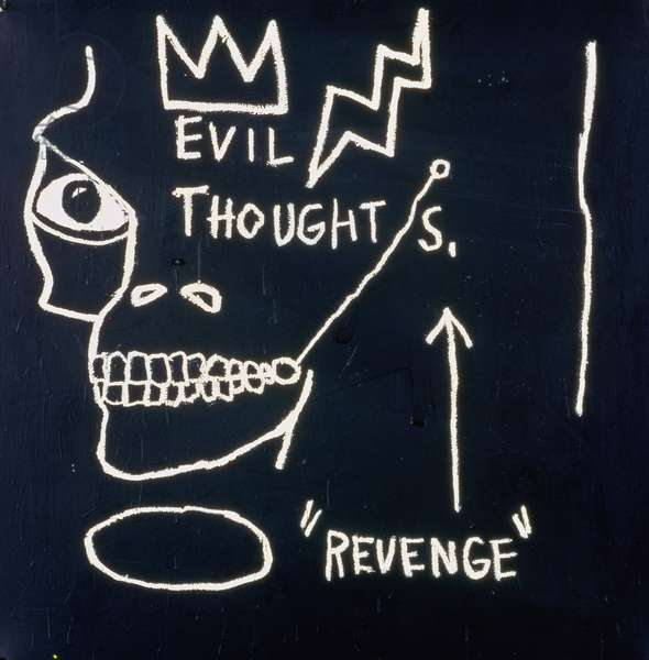 Evil Thoughts, 1982 (oil on canvas)