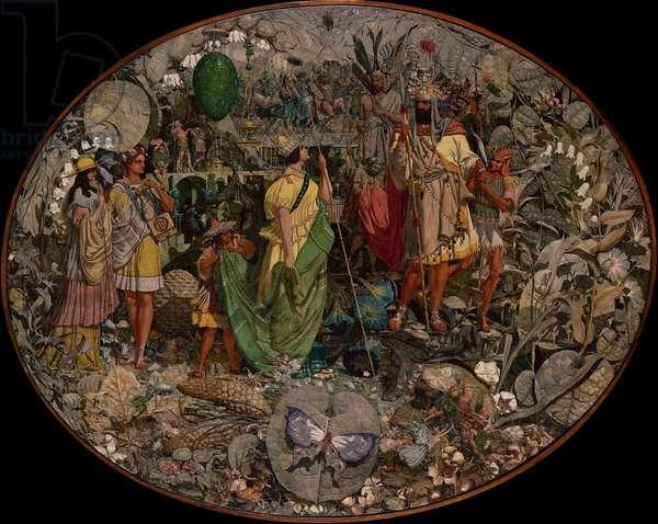 Contradiction: Oberon and Titania, 1854-58 (oil on canvas)