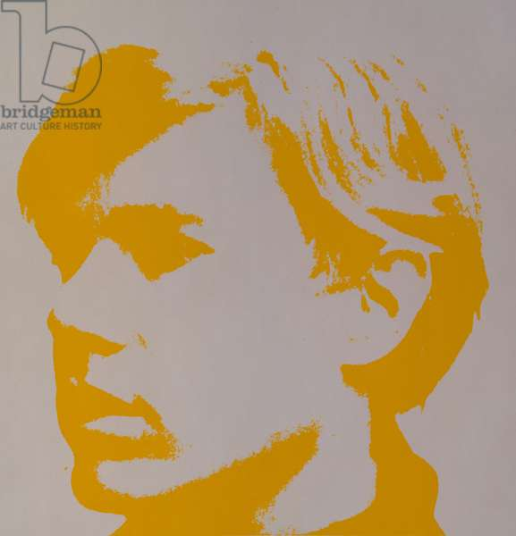Andy Warhol, Self Portrait (screenprint)