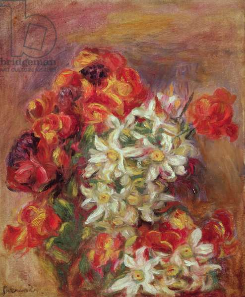 Fleurs, 1908 (oil on canvas)