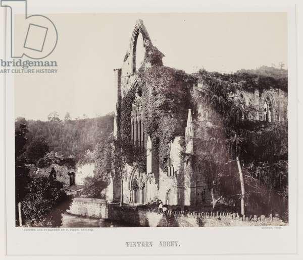 Tintern Abbey, c.1857 (albumen print)