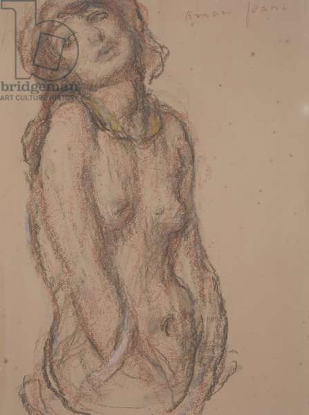 Nude (crayon on paper)