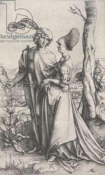 The Promenade, c.1496-1497 (engraving)