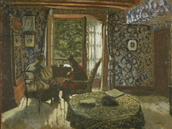 Interior, c.1900-1901 (oil on cardboard)