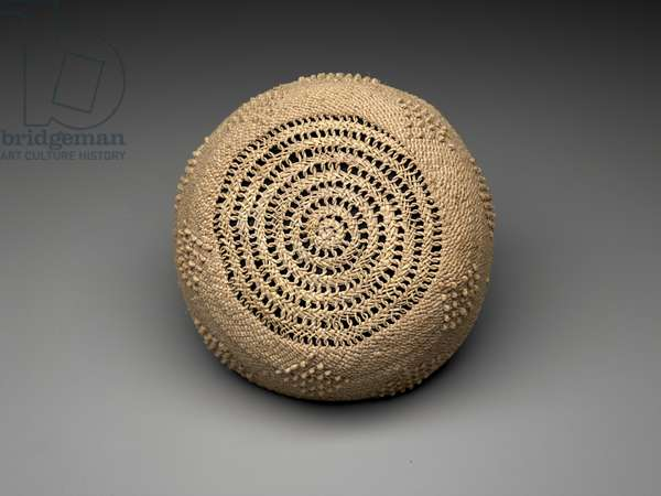 Free man's cap (mpu), Early to mid-20th century (raffia fiber)