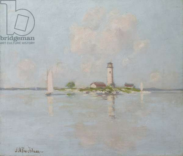 The Lighthouse (oil on canvas)