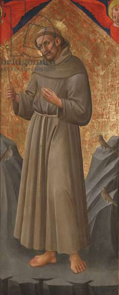 St. Francis of Assisi, c.1460 (tempera on panel)