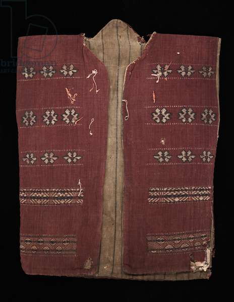Headhunter's jacket (baju kirai), c.1825-75 (homespun cotton)