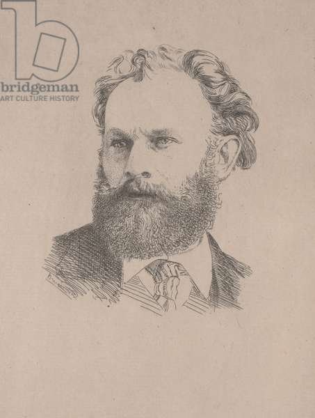 Portrait of Manet, 1867 (etching)