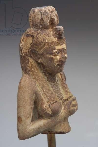 Isis, New Kingdom (1550-1085.B.C.) (stone)