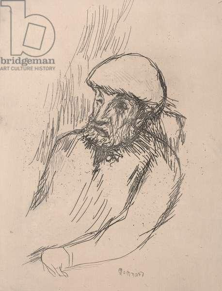 Portrait of Renoir, c.1916 (etching)