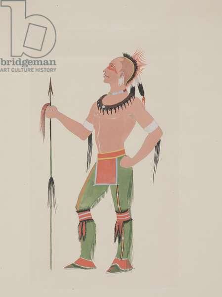 Osage, c.1934 (watercolor)