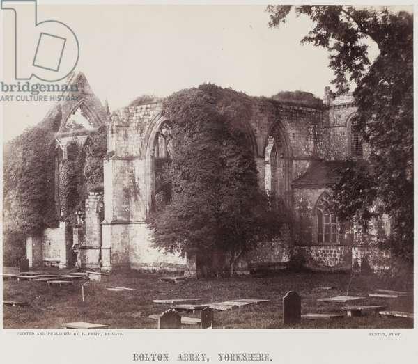 Bolton Abbey, Yorkshire, c.1857 (albumen print)