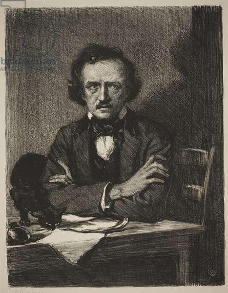 Edgar Allan Poe (litho)