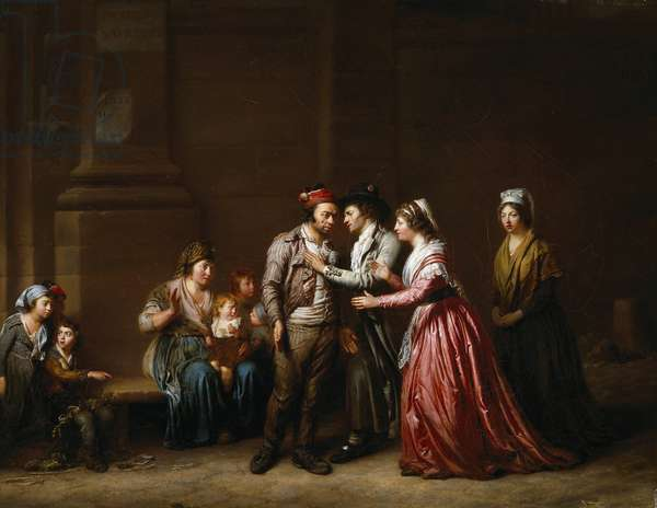 A Good Deed is Never Forgotten, 1794-95 (oil on canvas)
