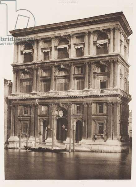 Grimani Palace, 1891 (photogravure)
