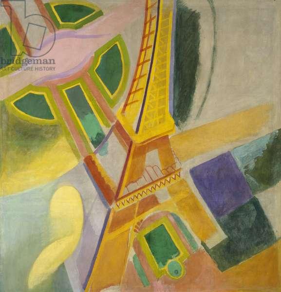 Eiffel Tower, 1924 (oil on canvas)