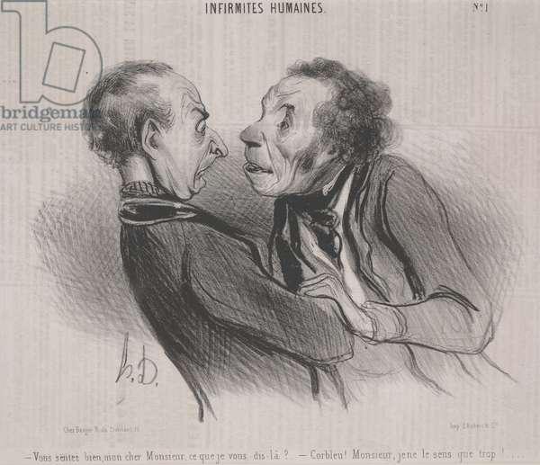 Human Weaknesses, no. 1, 1840 (litho)