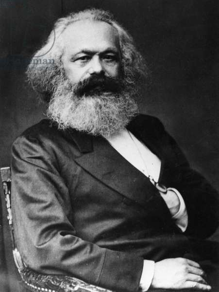 Karl Marx (1818-1893), German socialist theorist and revolutionary