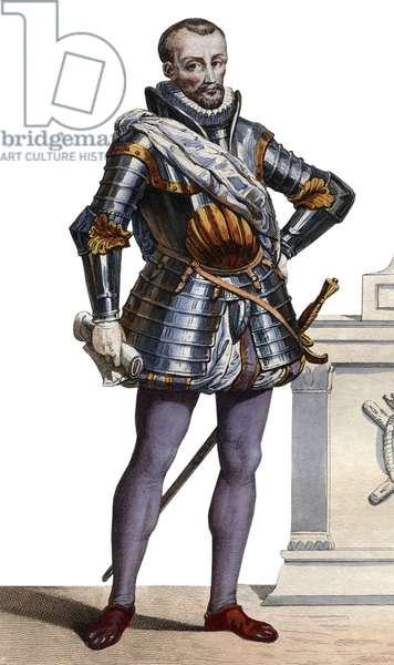Portrait of Charles de Cosse, comte de Brissac  (1505-1563), Marshal of France.