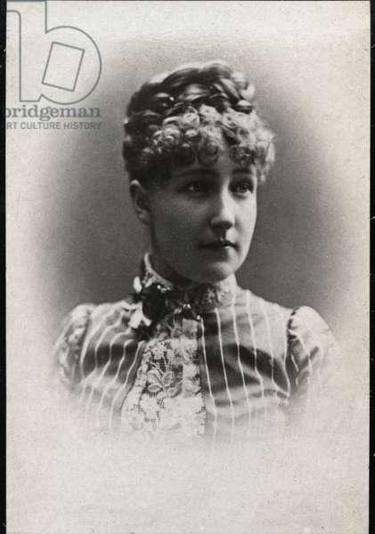 Portrait of Princess Stephanie of Belgium (1864-1945)