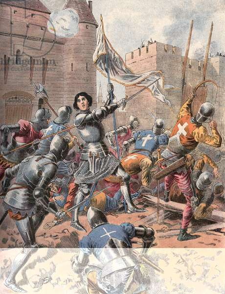 Joan of Arc at the Siege of Orleans.