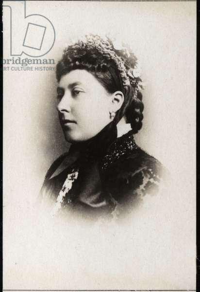Portrait of Princess Helena of the United Kingdom (1846-1923).