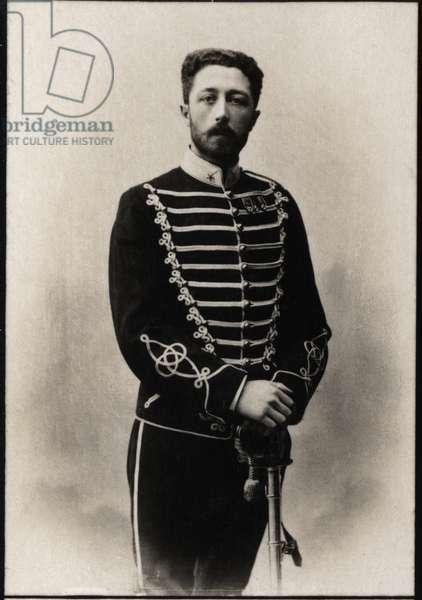 Portrait of Prince Eugen of Sweden (1865-1947).
