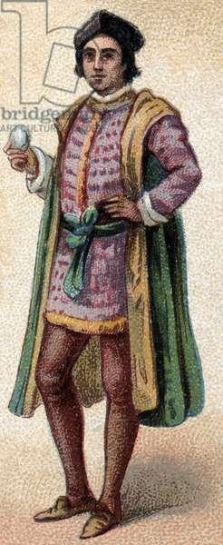 Portrait of Christopher Columbus (Christopher Columbus, Cristoforo Colombo, Cristobal Colon) (1451-1506)