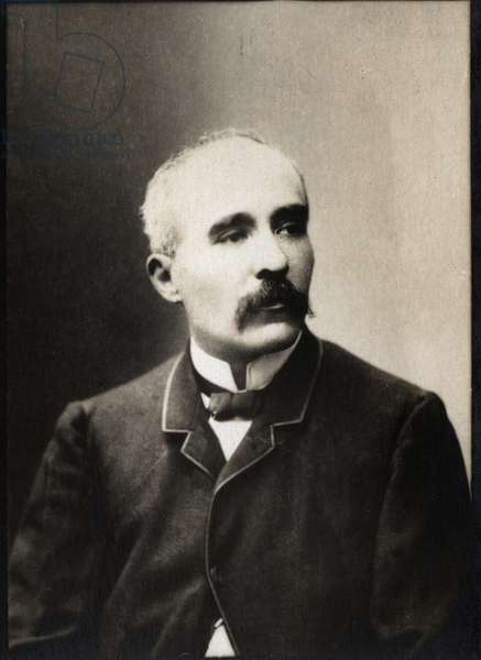 Portrait of Georges Clemenceau (1841-1929), French politician and journalist.