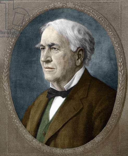 Thomas Alva Edison American inventor (1847 - 1931).