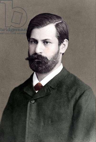 Sigmund Freud, 1885.