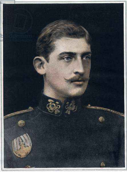 Portrait of Ferdinand of Romania (1865-1927), King of Romania.